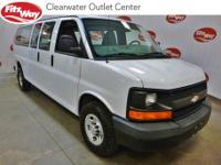 **ONE OWNER ** White 2015 Chevrolet Express 2500 Work