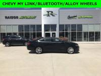 Black 2015 Chevrolet Impala LT FWD 6-Speed Automatic