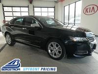2015 Chevrolet Impala LT 1LT FWD Black 6-Speed