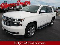 This 2015 Chevrolet Tahoe LTZ features a backup sensor,