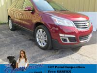 This 2015 Chevrolet Traverse looks new inside and out.