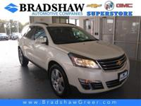 Recent Arrival! White Diamond Tricoat 2015 Chevrolet