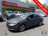 2015 Chrysler 200 S Clean CARFAX. 200 S, 4D Sedan,