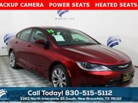 **ONE OWNER** **BACKUP CAMERA** **POWER SEATS**