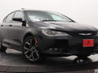 This 2015 Chrysler 200 4dr 200 S Sedan features a 2.4L
