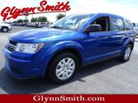 This Blue 2015 Dodge Journey American Value Package