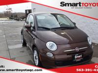 Brown 2015 Fiat 500c Pop FWD 6-Speed Aisin F21-250 Auto