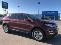 Ruby Red Metallic Tinted Clearcoat 2015 Ford Edge SEL