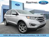 This 2015 Ford Edge Titanium is a One Owner vehicle