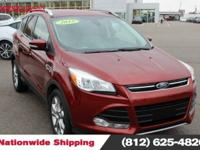 2015 Ford Escape Titanium Recent Arrival!AWD. CARFAX