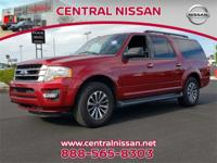 Red 2015 Ford Expedition EL RWD 6-Speed Automatic