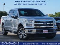 -Low Miles!- NEW ARRIVAL! This 2015 Ford F-150 Lariat