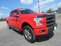 This 2015 Ford F-150 Lariat will sell fast -Backup