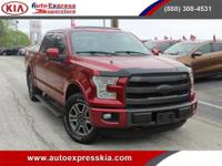 "- - - 2015 Ford F-150 4WD SuperCrew 145"" Lariat - - -"