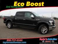 ACCIDENT FREE, LEATHER INTERIOR, 4D SuperCrew, EcoBoost