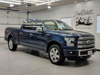 Blue Jeans Metallic 2015 Ford F-150 Platinum 4WD