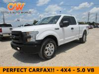 * PERFECT CARFAX!! - 4X4 - XL - POWER WINDOWS / LOCKS -