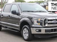 Clean CARFAX. Magnetic Metallic 2015 Ford F-150 XLT RWD