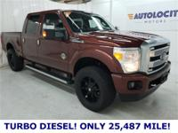 2015 Ford F-250SD Platinum 4WD Power Stroke 6.7L V8