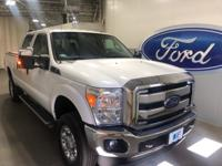 2015 Ford F-350SD XLT Oxford White ONE OWNER!, CLEAN