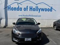 Check out this 2015 Ford Focus Titanium. Its Automatic