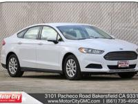 Fusion S, 2.5L iVCT, 6-Speed Automatic, FWD, Air