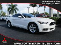 2015 Ford Mustang EcoBoost Oxford White EcoBoost 2.3L