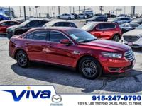Ruby Red Metallic Tinted Clearcoat 2015 Ford Taurus SEL