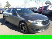 New Price! Gray 2015 Ford Taurus SHO AWD 6-Speed