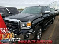2015 GMC Sierra 1500 SLT 4D Crew Cab **ONE OWNER**,
