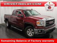 2015 GMC Sierra 1500 SLE Z71 Red Balance of Manufacture