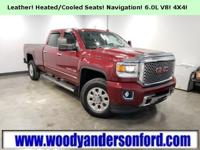 4WD, Rear View Camera, Leather Seating, Heated/Cooled