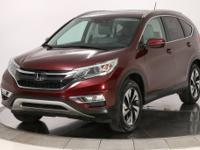 2015 Honda CR-V Touring Basque Red Pearl II 2.4L I4