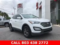 CARFAX One-Owner. Clean CARFAX. White 2015 Hyundai