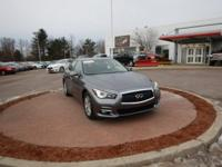 Graphite Shadow 2015 INFINITI Q50 AWD 7-Speed Automatic