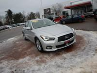 Liquid Platinum 2015 INFINITI Q50 AWD 7-Speed Automatic
