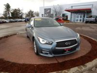 Gray 2015 INFINITI Q50 Premium AWD 7-Speed Automatic