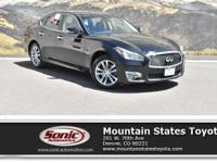 Check out this 2015 INFINITI Q70 4dr Sdn V6 AWD. Its