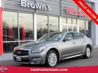 2015 INFINITI Q70L ** ONE OWNER ** CLEAN CARFAX ** V6