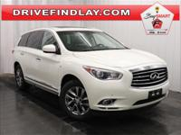 2015 INFINITI QX60 Base White Rear View Camera, AWD,