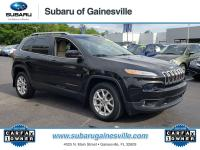 This 2015 Jeep Cherokee Latitude in Brilliant Black