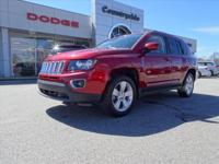 This RED 2015 Jeep Compass SLDK might be just the SUV