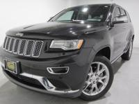 Clean CARFAX. 2015 Jeep Grand Cherokee Summit 4WD