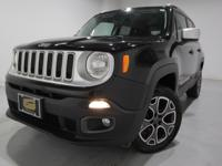 Clean CARFAX. 2015 Jeep Renegade Limited 4WD 9-Speed