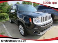 We are excited to offer this 2015 Jeep Renegade. Drive