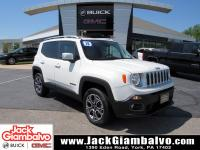 Alpine White 2015 Jeep Renegade Limited 4WD 9-Speed