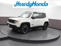 2015 Jeep Renegade Trailhawk Alpine White Clean CARFAX.