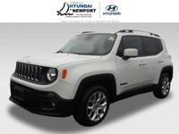 This Alpine White 2015 Jeep Renegade Latitude might be