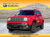 Boasts 31 Highway MPG and 24 City MPG! This Jeep