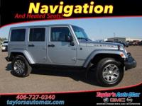 LEATHER INTERIOR, Wrangler Unlimited Rubicon, 4D Sport